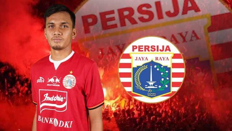 Bek muda Persija Jakarta, Al Hamra Hehanusa Copyright: © persija.id/Eli Suhaeli/INDOSPORT