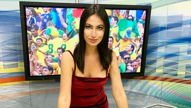 Nicole Gomena, sportcaster di Serie B Italia yang kerap tampil keseksian Copyright: © instagram.com/nicolegomena