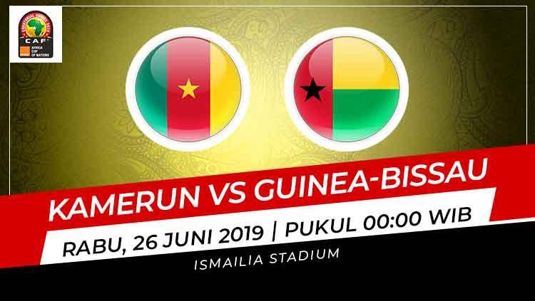 Prediksi Kamerun vs Guinea-Bissau. Copyright: © INDOSPORT