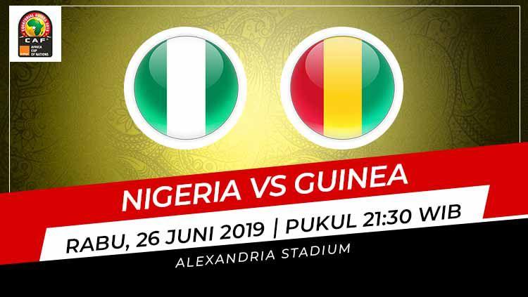 Prediksi Nigeria vs Guinea. Copyright: © INDOSPORT