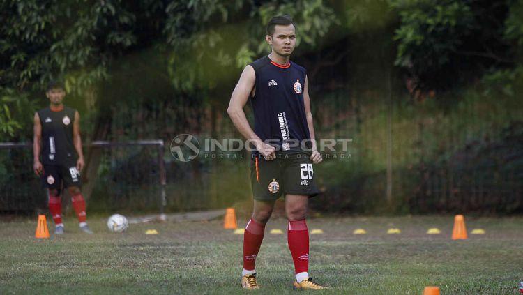 Rezaldi Hehanusa dipersiapkan untuk tampil di babak 8 besar Piala Menpora 2021 menghadapi Barito Putera. Copyright: © Herry Ibrahim/INDOSPORT