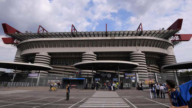 Stadion San Siro atau Giuseppe Meazza. Copyright: © tellerreport.com