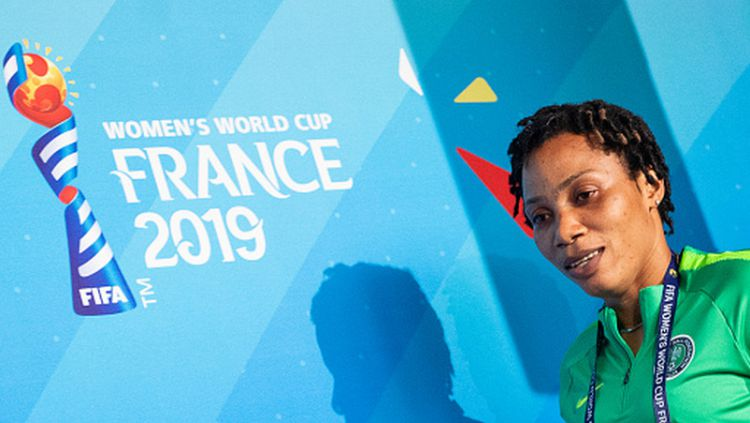 Onome Ebi, pemain Timnas Nigeria Wanita di Piala Dunia 2019 Copyright: © Sebastian Gollnow/picture alliance via Getty Images