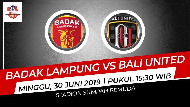 Prediksi Pertandingan Perseru Badak Lampung FC vs Bali United. (Foto: INDOSPORT) Copyright: © INDOSPOR