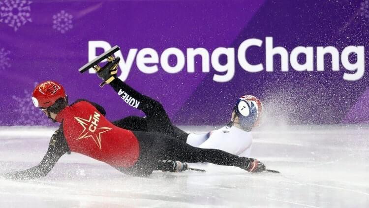 Cabor skating Korea Selatan kembali terkena kasus pelecehan seksual. Copyright: © sg.news.yahoo.com