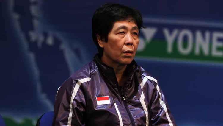 Mantan pelatih nomor tunggal putri Pelatnas Cipayung, Liang Chiu Sia Copyright: © badmintonindonesia