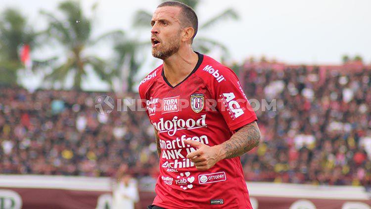 Gelandang Bali United, Paulo Sergio. Copyright: © Nofik Lukman Hakim/INDOSPORT