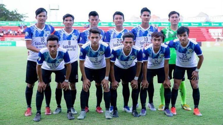 Klub sepak bola Kamboja, Kamphong Cham. Copyright: © Facebook/Kamphong Chan