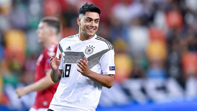 Wonderkid muslim Timnas Jerman Nadiem Amiri sempat menjadi perhatian di Piala Eropa U-21 tahun lalu. Bagaimana kabanya sekarang? Copyright: © Giuseppe Maffia/NurPhoto via Getty Images