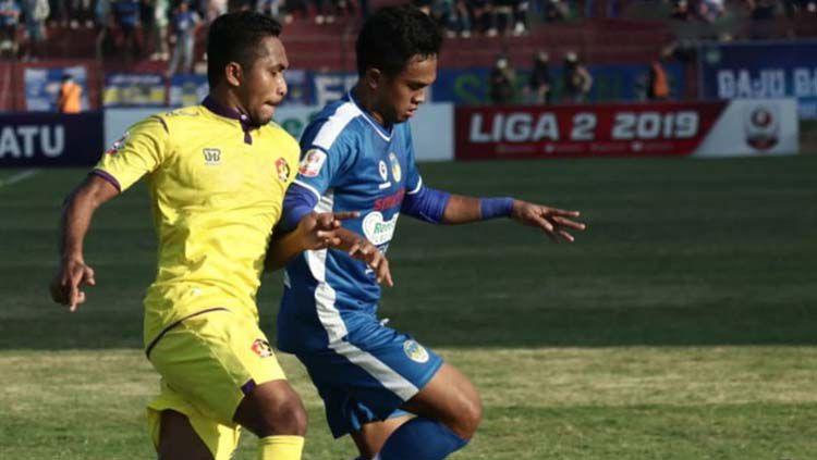 Situasi duel pertandingan PSIM Yogyakarta vs Persik Kediri Copyright: © psimjogja_official Sudah Diverifikasi
