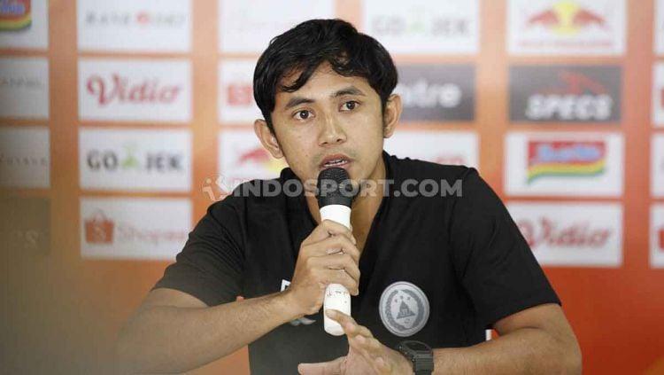 Kapten klub Liga 1 PSS Sleman, Bagus Nirwanto. Copyright: © Herry Ibrahim/INDOSPORT
