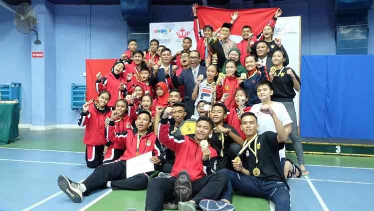 Image result for indonesia juara umum karate di brunei