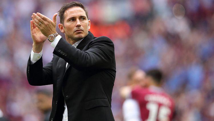 Karier Frank Lampard sebagai manajer Chelsea disebut bisa berakhir tragis jika kinerjanya tak mampu memuaskan sang pemilik, Roman Abramovich. Copyright: © Matthew Ashton - AMA/Getty Images