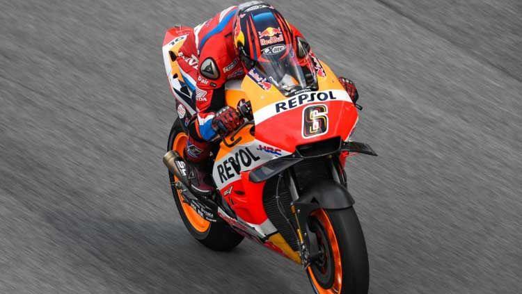 Stefan Bradl resmi akan turun sebagai pembalap bersatus wildcard dengan menunggangi livery Honda Racing Corporation (HRC) di MotoGP Spanyol 2021. Copyright: © MotoGP