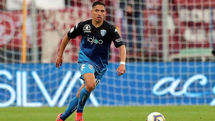 Ismael Bennacer pada laga saat melawan Torino FC di Stadio Carlo Castellani (19/05/19). Gabriele Maltinti/Getty Images Copyright: © Gabriele Maltinti/Getty Images
