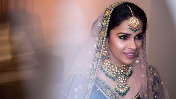 Cantiknya Saina Nehwal mengenakan gaun pengantin Copyright: © weddingsutra.com