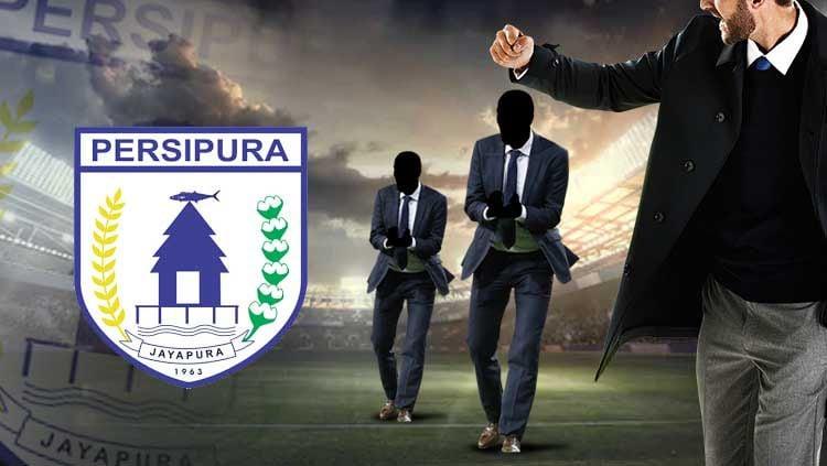 Ilustrasi siapa yang cocok jadi pelatih Persipura Jayapura Copyright: © Grafis: Eli Suhaeli/INDOSPORT/Football manager