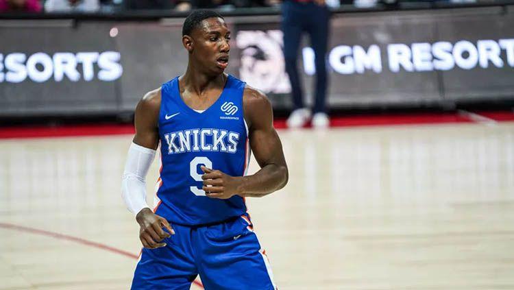 Bintang muda New York Knicks, RJ Barrett, disebut memiliki karakter mirip Kawhi Leonard. Cassy Athena/Getty Images. Copyright: © Cassy Athena/Getty Images