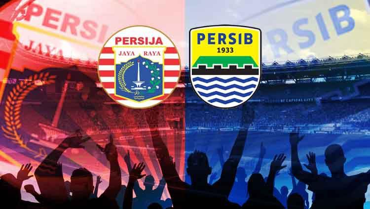 Persija Jakarta vs Persib Bandung berlangsung di SUGBK, Rabu (10/7/19). Copyright: © Hery Ibrahim/Eli Suhaeli/INDOSPORT