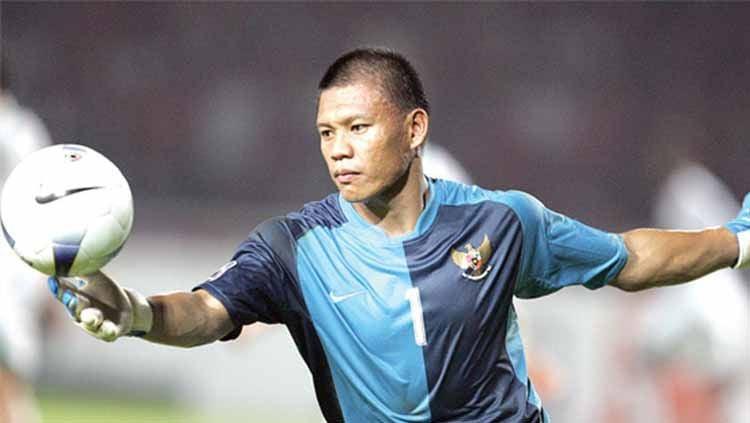 Legenda kiper Tim Nasional Indonesia, Jendri Pitoy. Foto: striker.id. Copyright: © striker.id