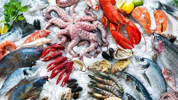 Ilustrasi olahan Sea Food. Foto: fisheries.noaa.gov Copyright: © fisheries.noaa.gov