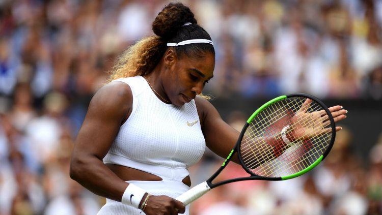 Serena Williams putuskan mundur dari turnamen tenis Cincinnati Masters 2019. Copyright: © Shaun Botterill/Getty Images