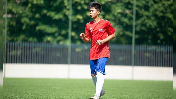 Emir Eranoto, wonderkid Indonesia ini akhirnya bisa mencetak gol debutnya di Liga Italia dan mendapat sorotan media asing. Copyright: © https://www.instagram.com/emireranoto/
