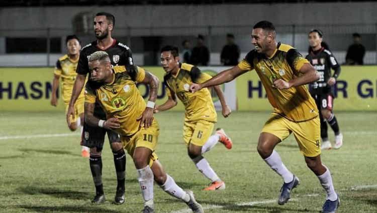 Evaluasi pemain asing Liga 1 2019: Barito Putera telat panas dan sempat melepas tiga pemain asingnya di putaran pertama. Copyright: © psbaritoputeraofficial