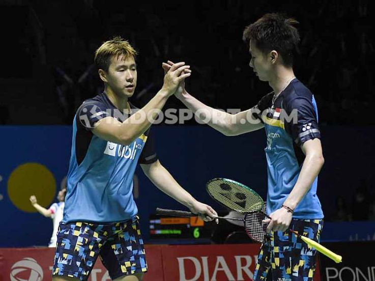 Indonesia Open 2019: Kevin/Marcus Susah Payah Kalahkan Ganda Jepang