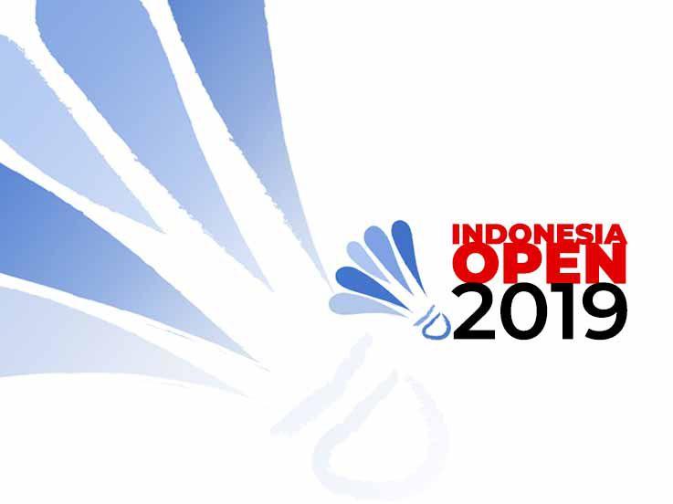 Rekap Hasil Indonesia Open 2019: Praveen/Melati Tersingkir, Kevin/Marcus Kesulitan