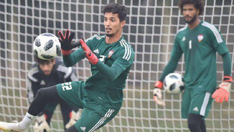 Mohamed Al Shamsi dipanggil mengikuti pemusatan latihan Timnas Uni Emirat Arab untuk pertandingan Kualifikasi Piala Dunia 2022. Copyright: © soha.vn