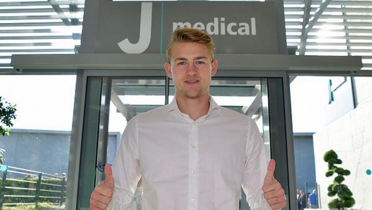 Matthijs de Ligt saat tiba di Juventus Medical Copyright: © Daniele Badolato - Juventus FC/Juventus FC via Getty Images