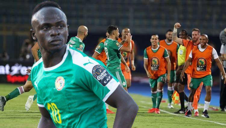 Sadio Mane dan Timnas Senegal bersinar di Piala Afrika 2019. (Foto: Twitter/@CAF_Online) Copyright: © Twitter/@CAF_Online