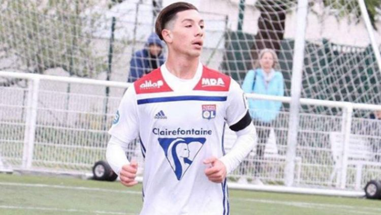 Florent Da Silva, pemain muda Lyon bidikan Man United. Copyright: © Daily Mail