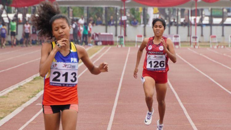 Tim atletik Indonesia berhasil menyumbang tiga medali emas di ajang ASEAN School Games 2019. Copyright: © dok/asg2019 via kemenpora.go.id