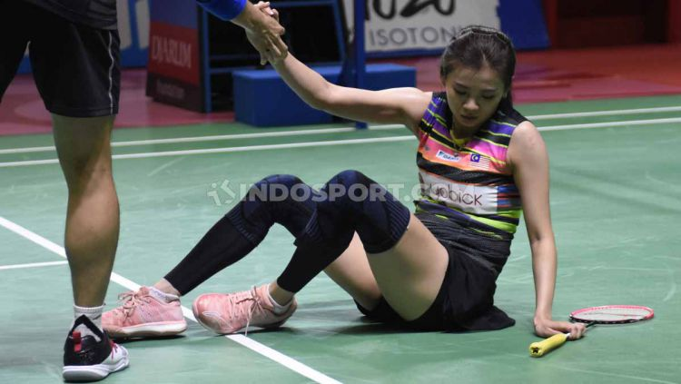 Chan Peng Soon/Goh Liu Ying dinilai kurang meyakinkan kala menyingkirkan Rinov Rivaldy/Pitha Haningtyas Mentari di babak pertama Hong Kong Open (12/11/19). Copyright: © Herry Ibrahim/INDOSPORT