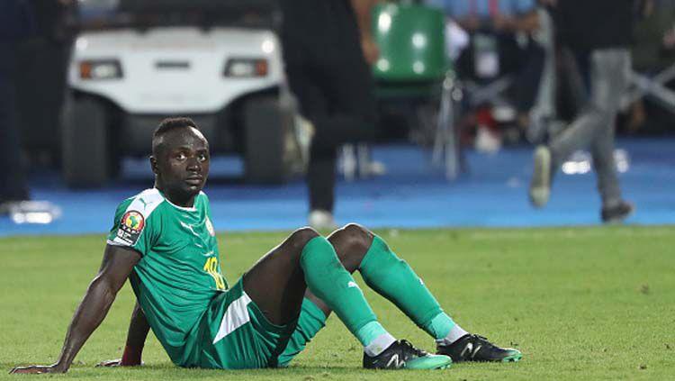 Sadio Mane Ngamuk, Laga Uji Coba Senegal vs Zambia Mati Lampu. Copyright: © Picture Alliance/GettyImages