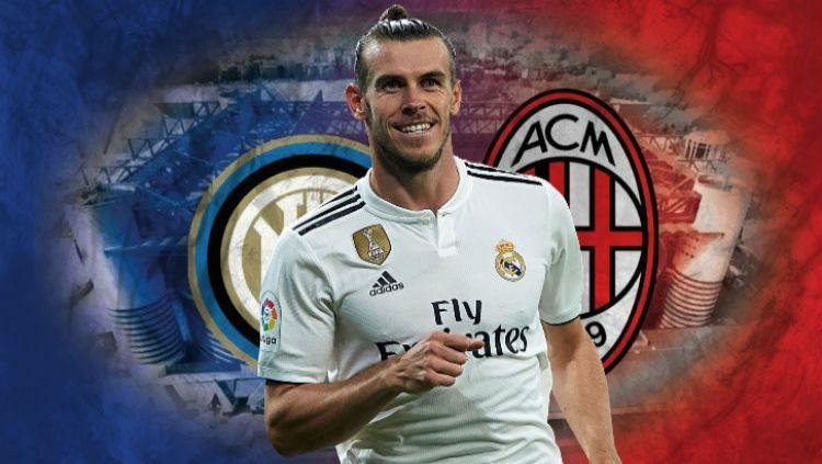 Klub Italia mana yang pantas dibela Gareth Bale? Copyright: © deviantart.com/Indosport