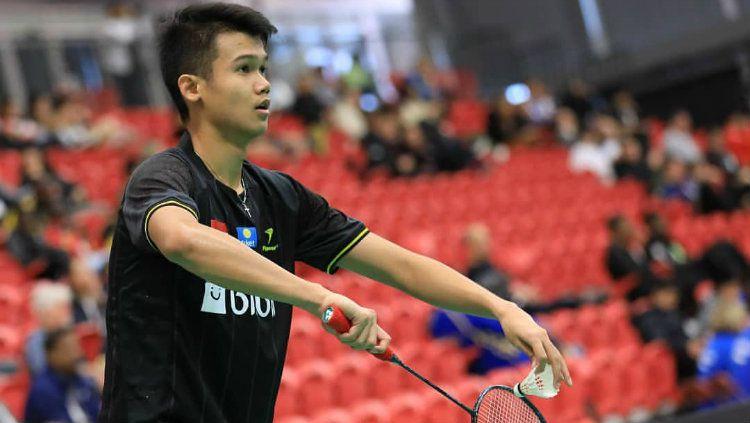 Christian Adinata, pemain junior bulutangkis Indonesia. Copyright: © Badminton Indonesia