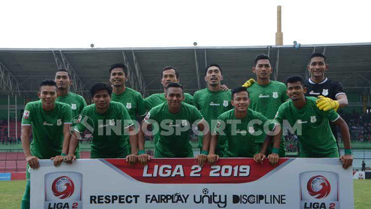Skuat PSMS Medan di Liga 2 Indonesia 2019 Copyright: © Aldi Aulia Anwar/INDOSPORT