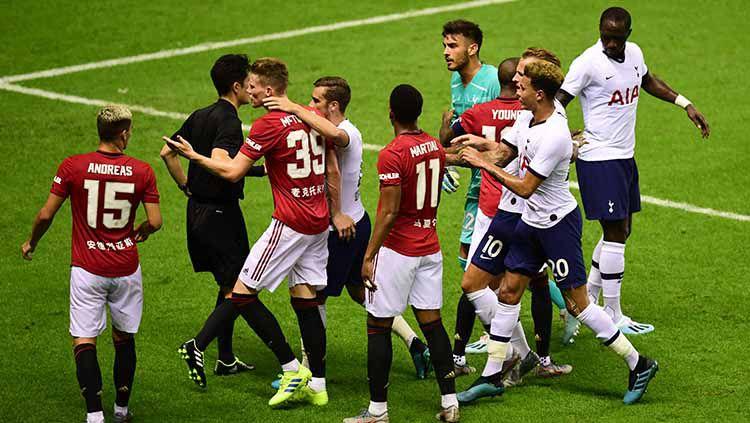 Pekan ke-15 Liga Inggris 2019-2020 akan menyajikan duel Manchester United vs Tottenham Hotspur. Apakah ini akan menjadi ajang pembalasan dendam Jose Mourinho? Copyright: © Di Yin/Getty Images