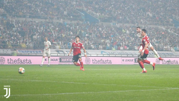 K-League All Star vs Juventus Copyright: © https://twitter.com/SoyCalcio_