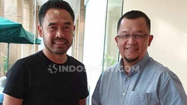 Eks kapten Sriwijaya FC, Ponaryo Astaman, yang juga merupakan Presiden Asosiasi Pesepakbola Profesional Indonesia (APPI) periode 2011-2017. Copyright: © Muhammad Effendi/INDOSPORT