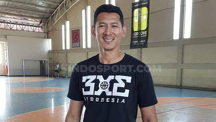 Fandi Andika Ramadhani adalah mantan pemain Stapac Jakarta yang juga aktif bermain di 3x3 Indonesia. Copyright: © Israelly Rex Kawengian/INDOSPORT