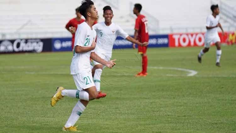 Penyerang Timnas Indonesia U-15, Muhammad Valeron. Copyright: © Persib.co