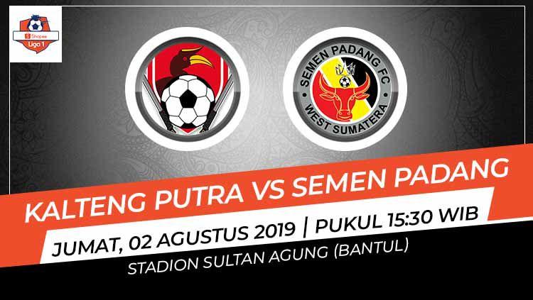 Pertandingan Kalteng Putra vs Semen Padang. Copyright: © Grafis: Indosport.com