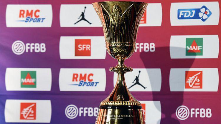 Trofi Piala Dunia Basket 2019. Copyright: © Frederic Stevens/Getty Images