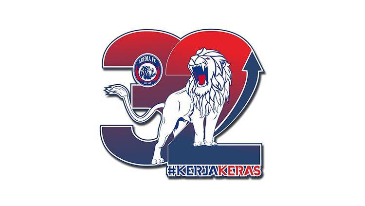 Logo Arema FC. Copyright: © Ofisial Arema FC
