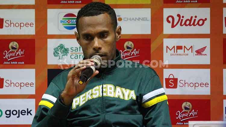 Kapten Persebaya Surabaya, Ruben Sanadi Copyright: © Fitra Herdian/INDOSPORT