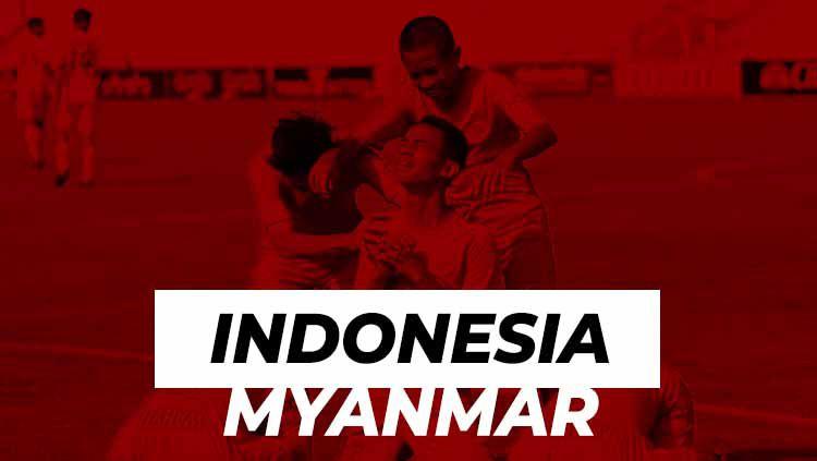 Timnas Indonesia U-15 vs Myanmar di Piala AFF Thailand. Copyright: © PSSI/INDOSPORT